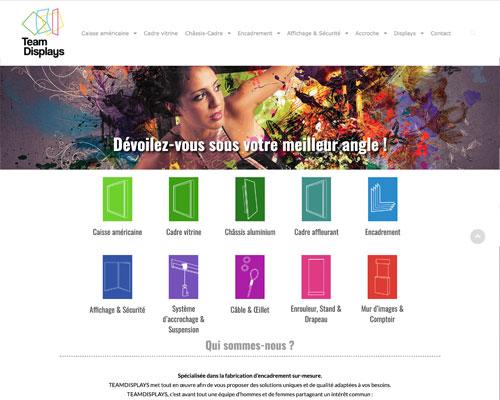 site web graphiste wordpress freelance paris création
