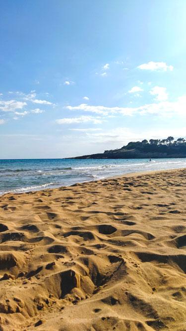 photo plage Avola sicile