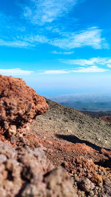 photo mont sylvestre Etna Sicile