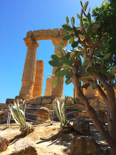 photo sicile Vallée des Temples Agrigento