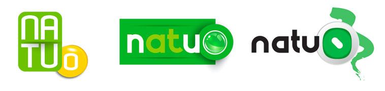 recherche logo natuo, spiruline