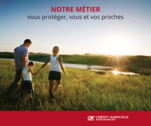 stand parapluie modulaire crédit agricole assurances